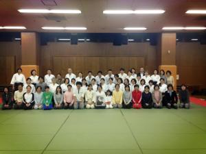 2013年4月4日 清道館 稽古開き 集合写真